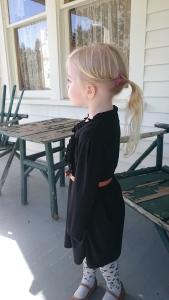 Black Shirt Dress, 6