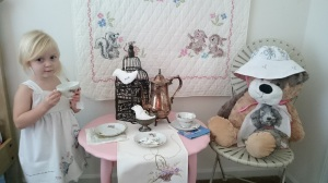 Pretend tea party