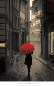 Red umbrella pic