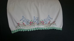 Retro Reproduction Dress, Pillowcase