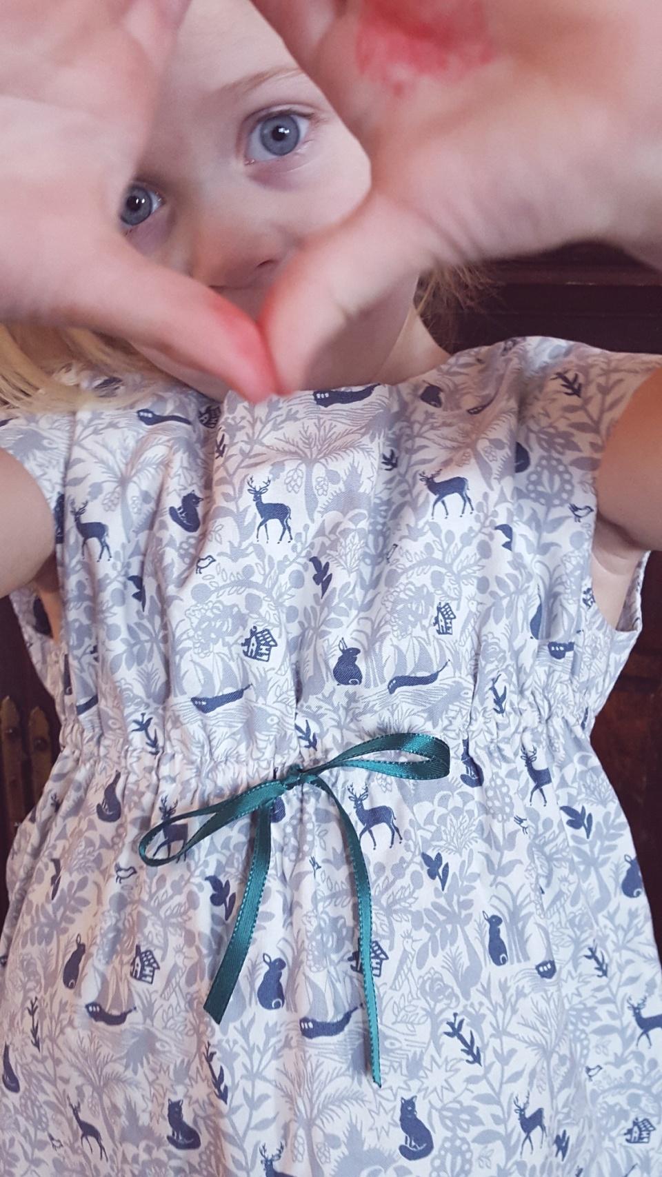 Enchanted Forest Roller Skate Dress, 8