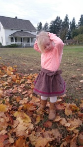 Merlot tweed swingset skirt, 7
