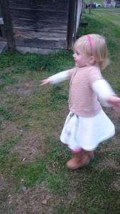 Vintage tablecloth swingset skirt, 3