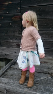 Vintage tablecloth swingset skirt, 7