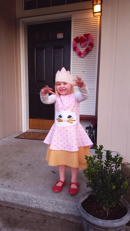 Princess Kitty Dress